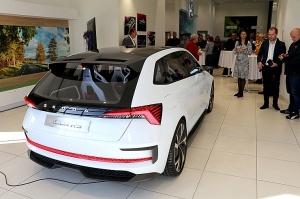 «Green Motors» divas dienas publikai prezentē jaunā koncepta auto «Škoda Vision RS» 5