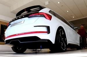 «Green Motors» divas dienas publikai prezentē jaunā koncepta auto «Škoda Vision RS» 7