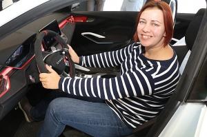 «Green Motors» divas dienas publikai prezentē jaunā koncepta auto «Škoda Vision RS» 19