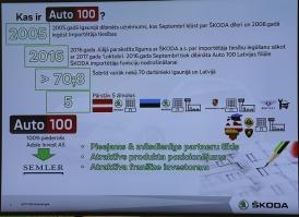 «Green Motors» divas dienas publikai prezentē jaunā koncepta auto «Škoda Vision RS» 22