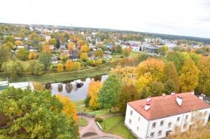 Ceļotājus Valmierā sagaida krāšņs rudens, kas ik dienu arvien vairāk rotā pilsētu 8