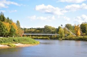 Ceļotājus Valmierā sagaida krāšņs rudens, kas ik dienu arvien vairāk rotā pilsētu 13