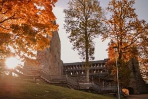 Sigulda var dižoties daudzveidīgām rudens ainavām pilsētā un tās apkārtnē 2