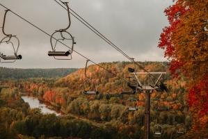 Sigulda var dižoties daudzveidīgām rudens ainavām pilsētā un tās apkārtnē 10