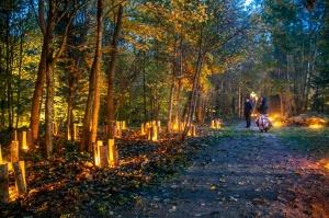 Vienkoču parkā norisinājās Uguns Nakts, kura mērķis ir vienu īso rudens dienu padarīt ilgāk gaišu, dot iespēju uzlādēt sevi ar sveču gaismu un siltumu 16