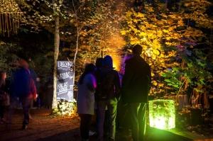 Vienkoču parkā norisinājās Uguns Nakts, kura mērķis ir vienu īso rudens dienu padarīt ilgāk gaišu, dot iespēju uzlādēt sevi ar sveču gaismu un siltumu 19