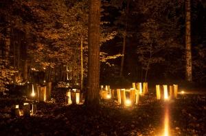 Vienkoču parkā norisinājās Uguns Nakts, kura mērķis ir vienu īso rudens dienu padarīt ilgāk gaišu, dot iespēju uzlādēt sevi ar sveču gaismu un siltumu 33