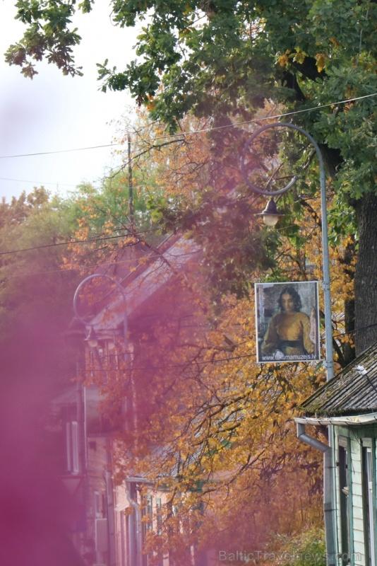 Tukumā rudenī valda īpaša noskaņa un krāsu spēles 267899