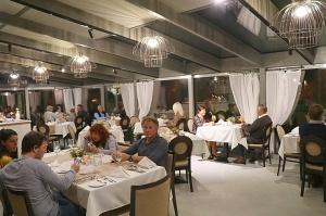 Travelnews.lv ievērtē Jūrmalas viesnīcas restorāna «Kurshi Terase» vakariņu piedāvājumu 2