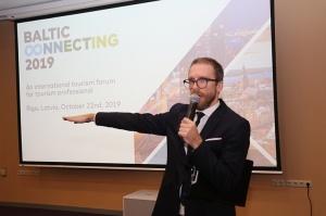 «Radisson Blu Latvija Conference & Spa Hotel» notiek no 21.10 līdz 24.10.2019 tūrisma profesionāļu pasākums «Baltic Connecting 2019» 12