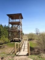 Skatu tornis Sātiņu dīķos