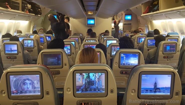 Travelnews.lv ar lidsabiedrību «Turkish Airlines» lido Rīga - Stambula - Dubaija