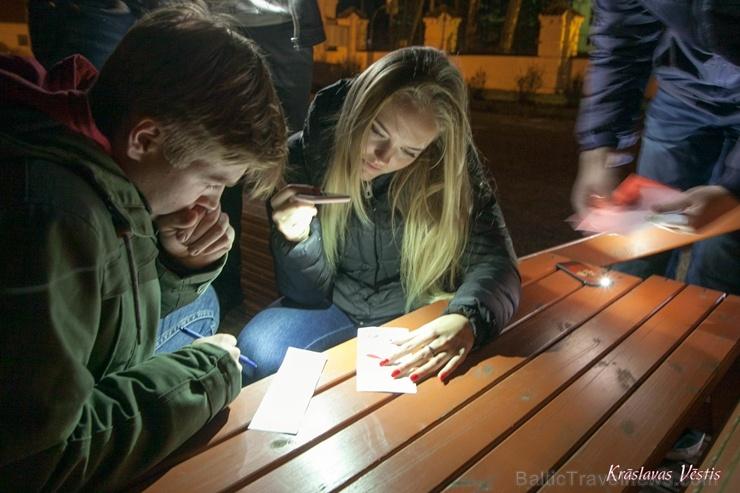 Krāslavas grāfu Plāteru pils kompleksā izbauda Leģendu nakti 269609