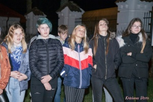 Krāslavas grāfu Plāteru pils kompleksā izbauda Leģendu nakti 30