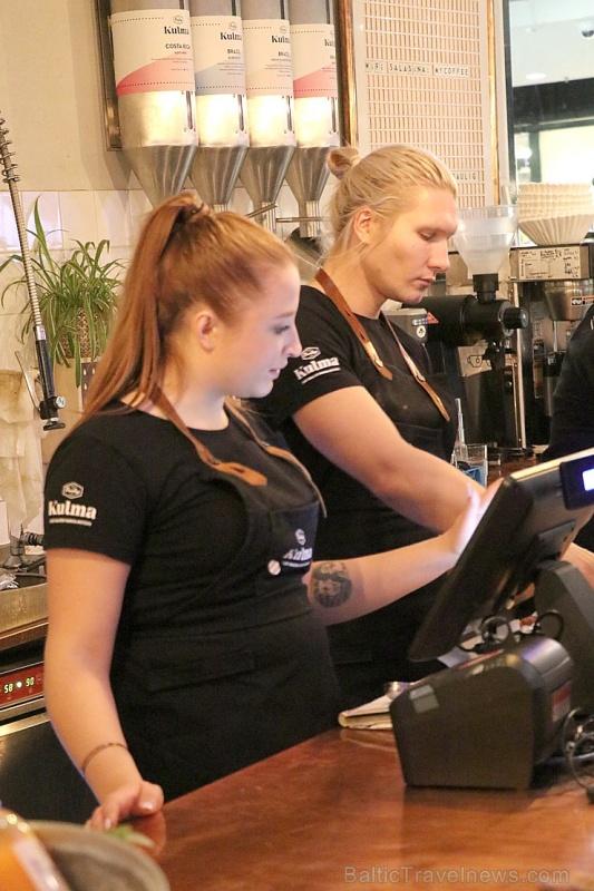 Travelnews.lv Helsinkos apmeklē «Paulig» kafijas grauzdētavu un kafejnīcu «Kulma» 269645
