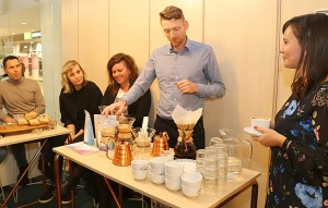 Travelnews.lv Helsinkos apmeklē «Paulig» kafijas grauzdētavu un kafejnīcu «Kulma» 39