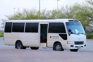 Travelnews.lv piedāvā fotomirkļus no ceļojuma autobusa loga Šārdžas emirātos. Atbalsta: VisitSharjah.com un Novatours.lv 1