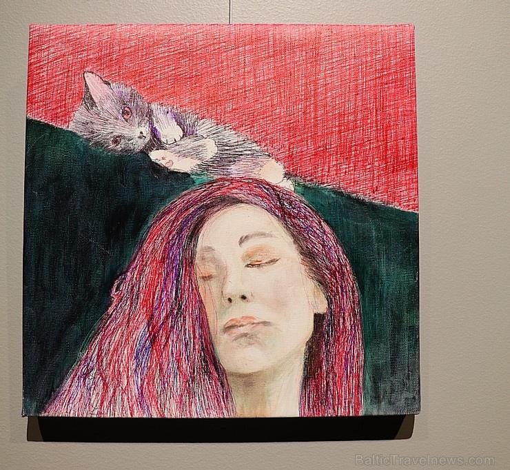 Viesnīcā «Grand Poet by Semarah Hotels» jaunā māksliniece Kristīne Rublovska atklāj personālizstādi