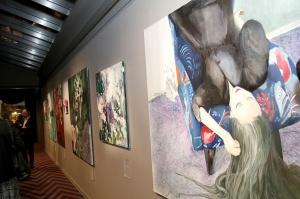 Viesnīcā «Grand Poet by Semarah Hotels» jaunā māksliniece Kristīne Rublovska atklāj personālizstādi 34