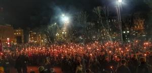 2019. gadā aprit 100 gadi kopš Latvijas Brīvības cīņām un, pieminot tās, Lāčplēša dienu Rīgā atzīmēja ar vairākiem pasākumiem 11