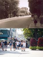 Jomas iela Majoros. Skats uz krustojumu ar Smilšu ielu Majoru stacijas virzienā, 1963. gads, foto E. Dambis. 13