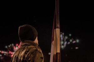 Tūkstošiem liepājnieku un Liepājas viesu atzīmē Latvijas Neatkarības proklamēšanas 101. gadadienu 1