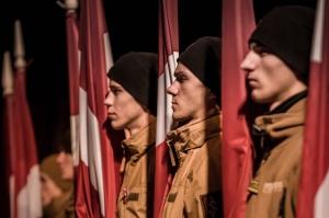 Tūkstošiem liepājnieku un Liepājas viesu atzīmē Latvijas Neatkarības proklamēšanas 101. gadadienu 2