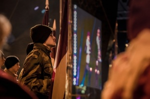 Tūkstošiem liepājnieku un Liepājas viesu atzīmē Latvijas Neatkarības proklamēšanas 101. gadadienu 25