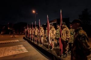 Tūkstošiem liepājnieku un Liepājas viesu atzīmē Latvijas Neatkarības proklamēšanas 101. gadadienu 37