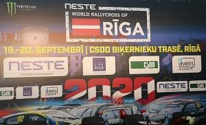 Ar «Live Riga» atbalstu 19.-20.09 2020 Rīgā notiks populārais «Neste World RX of Riga» 2