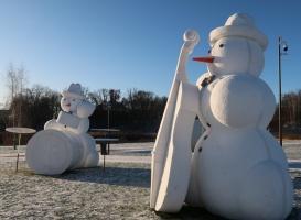 Cauri deviņām Latvijas kaprīzajām ziemām Dobeles dižie sniegavīri ir veiksmīgi atnākuši līdz savam desmitajam saietam 3