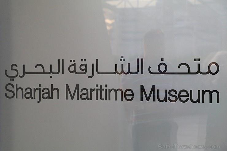 Travelnews.lv apmeklē jūrniecības muzeju «Sharjah