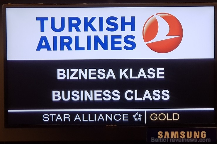 Travelnews.lv lido biznesa klasē ar «Turkish Airli