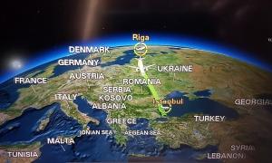 Travelnews.lv lido biznesa klasē ar «Turkish Airlines» no Rīgas uz Denpasaru caur Stambulu. Foto: ar Samsung Galaxy Note8 5