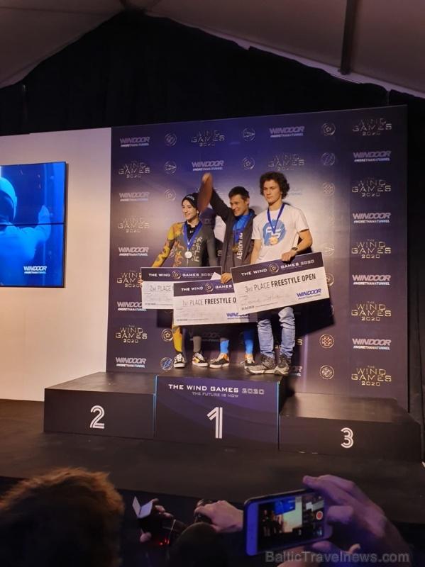 AERODIUM Sigulda lidotājs Toms Īvāns ir izcīnījis 1. vietu