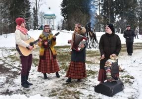 Alūksnes muzejs kopā ar Viļakas novada folkloras kopu