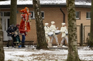Rēzeknē svin tradicionālos slāvu tautību svētkus «Masļeņica» 17