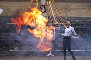 Rēzeknē svin tradicionālos slāvu tautību svētkus «Masļeņica» 50