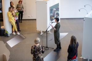 Latgales vēstniecībā GORS Rēzeknē atklāta izstāde, kas veltīta ekstraordinārai personībai – māksliniekam, teorētiķim, mākslas kritiķim un pedagogam Ju 14