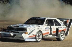 Leģendārā Audi pilnpiedziņas sistēma quattro šogad svin 40 gadu kopš tās prezentācijas Audi quattro modelī 1980. gadā