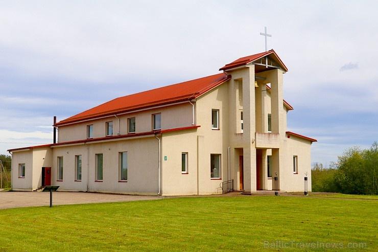 Travelnews.lv apmeklē Viļakas novada Šķilbēnu Sāpju Dievmātes Romas katoļu jauno un veco baznīcu