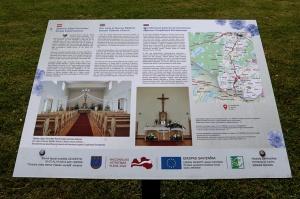 Travelnews.lv Viļakas novada Šķilbēnu Sāpju Dievmātes Romas katoļu jauno un veco baznīcu 2