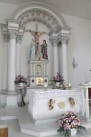 Travelnews.lv Viļakas novada Šķilbēnu Sāpju Dievmātes Romas katoļu jauno un veco baznīcu 5