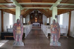 Travelnews.lv Viļakas novada Šķilbēnu Sāpju Dievmātes Romas katoļu jauno un veco baznīcu 22