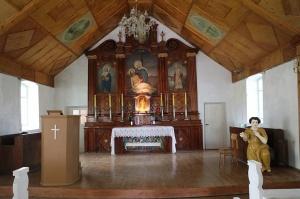 Travelnews.lv Viļakas novada Šķilbēnu Sāpju Dievmātes Romas katoļu jauno un veco baznīcu 23