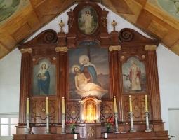 Travelnews.lv Viļakas novada Šķilbēnu Sāpju Dievmātes Romas katoļu jauno un veco baznīcu 25
