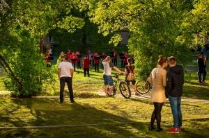 Rēzeknes pagalmos skan muzikāli pārsteigumi pilsētas iedzīvotājiem un viesiem 14