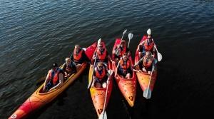 «Lost in Latgale» ceļotājus ved aizraujošos laivu braucienos 7