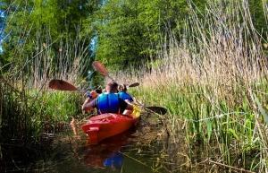 «Lost in Latgale» ceļotājus ved aizraujošos laivu braucienos 14