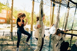 Valmieras Sajūtu parkā atver Tīklu kubu 5